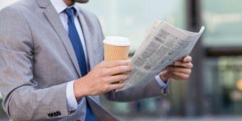 Job seeker looking at executive-level telecommuting jobs.