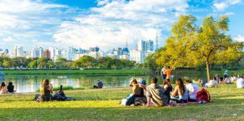 Job seekers looking for jobs in Brazil.
