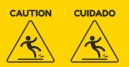 Caution sign for tricky interview questions.