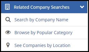 related company searches