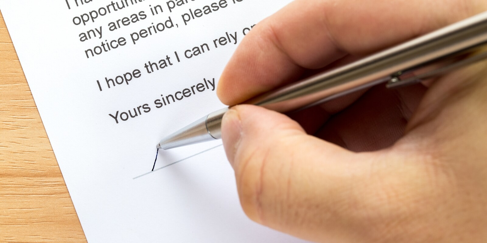 4 Tips for Writing a Resignation