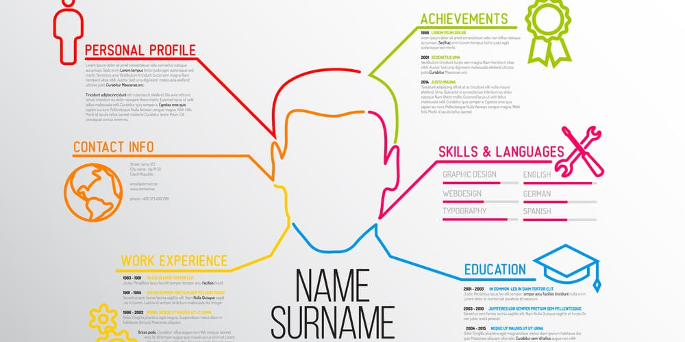 how to make a creative-looking resume