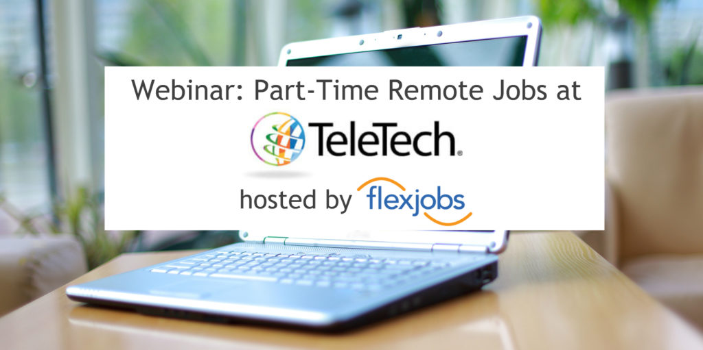 part time telecommuting jobs