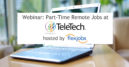 video for part-time remote job opportunities at Teletech