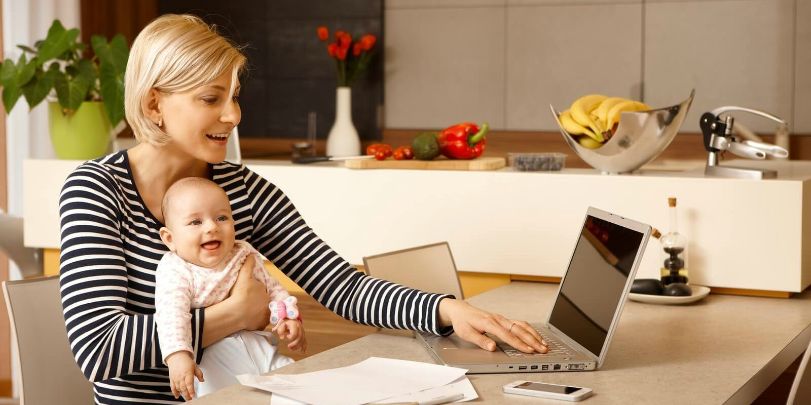 great work at home jobs for stay at home moms flexjobs
