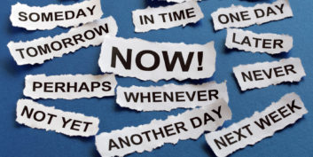 Excuses not to turn procrastination into productivity