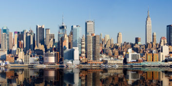 Exploring for telecommuting jobs in New York.