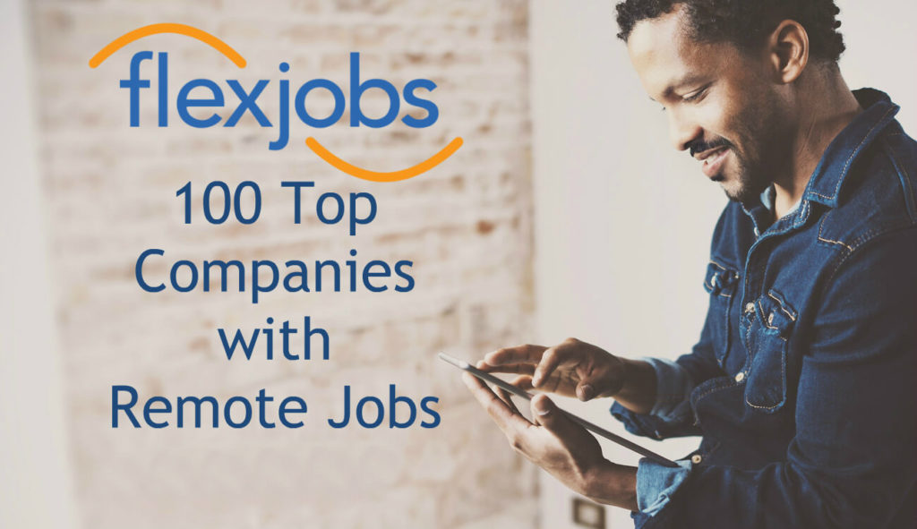 100 top companies with remote jobs image