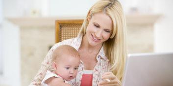 Mom finding flexible jobs for moms