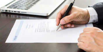 Job seeker looking at resume tips that can help you land your dream job.