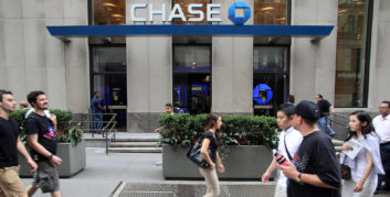 J.P. Morgan Chase, one of the companies hiring for flexible executive-level jobs