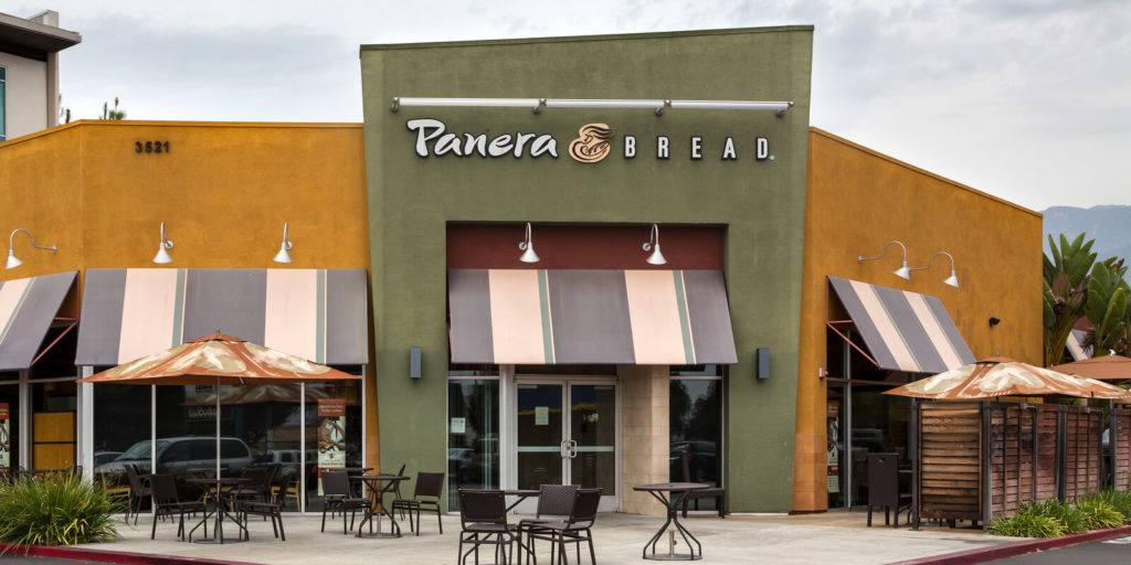 Panera Bread, one of the companies for people who love food.