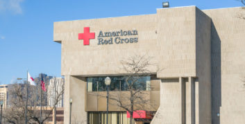 American Red Cross, one of the companies for people who love helping others.