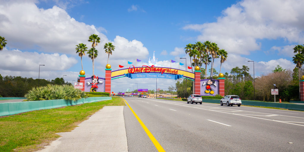 Walt Disney World, one of the companies for people who love music and entertainment.