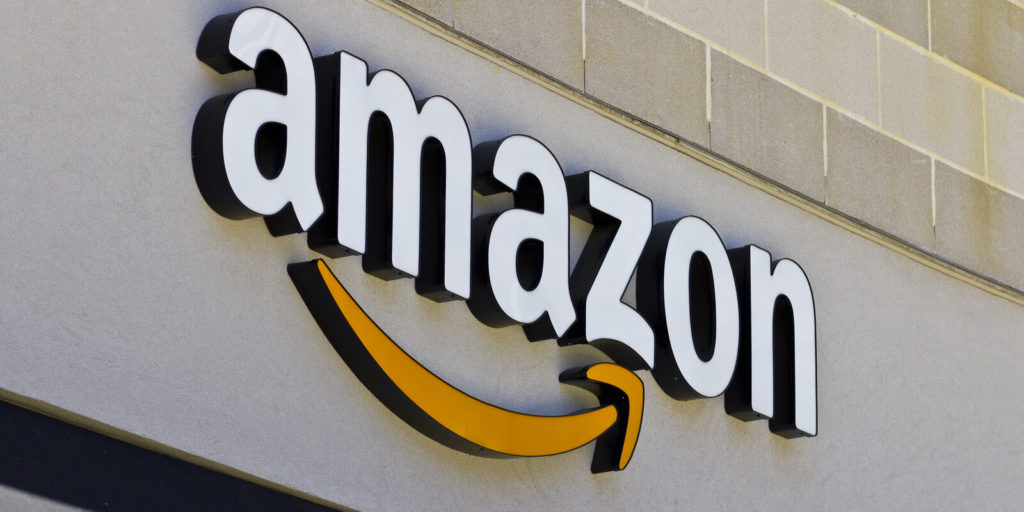 Amazon, one of the big-name companies now hiring for work-from-home jobs.