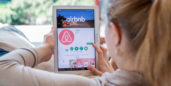 Airbnb, one of several San Francisco-based companies hiring for remote jobs.