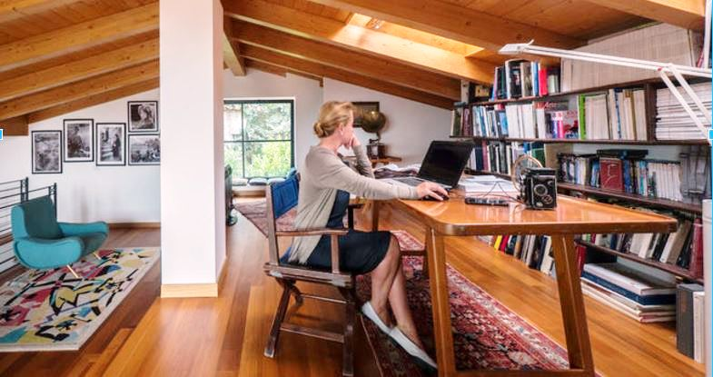 see inside the home offices of 6 real life remote workers. Black Bedroom Furniture Sets. Home Design Ideas