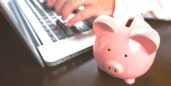 Piggy banks for finding legit professional jobs to make money on the side.
