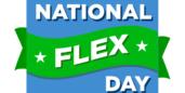 National Flex Day banner