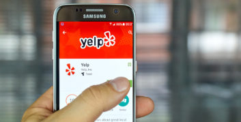 Yelp, one of the top companies hiring for part-time, remote jobs.