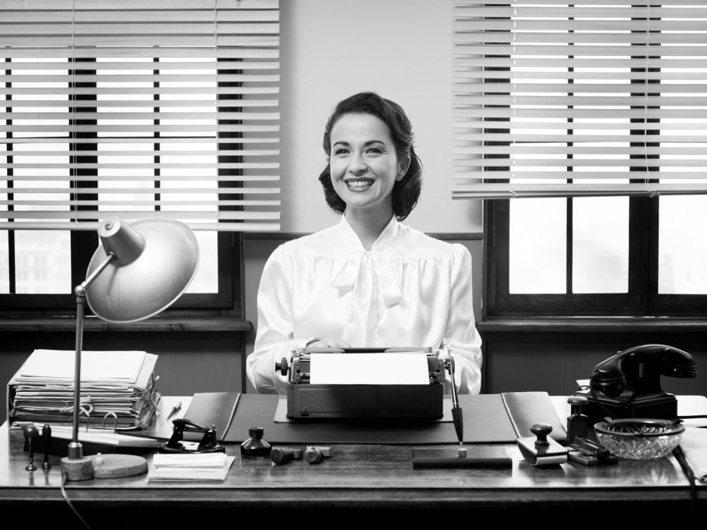Vintage secretary