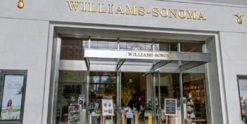 William-Sonoma, one of the flexible companies hiring this holiday season.