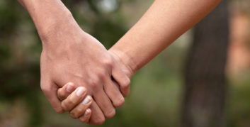 Couple having better relationships due to work flexibility.