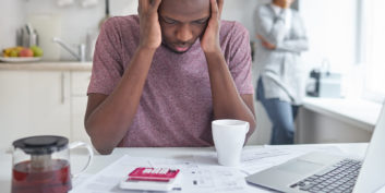 Man not getting paid, one of the biggest challenges freelancers face.