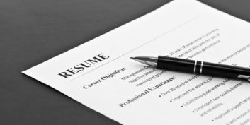 Creating a master resume, one of the job search hacks.