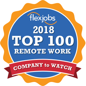 top 100 remote work logo