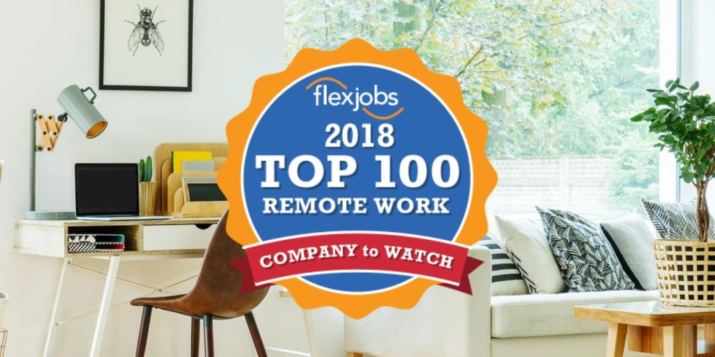 top companies with remote jobs in 2018