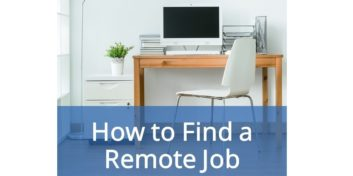 Find a remote job and start working from home