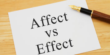 Affect vs effect, the words you may be misusing in your job search