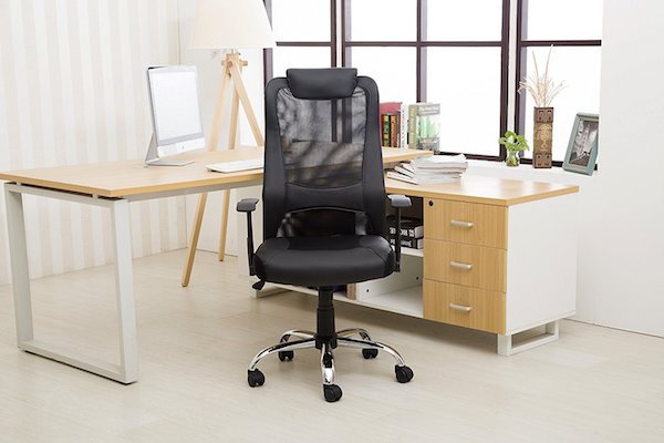 LCH High Back Ergonomic Computer Desk Chair ($197): This Sleek, Black Desk  Chair Offers A Breathable Mesh Back And Is Fully Adjustable.
