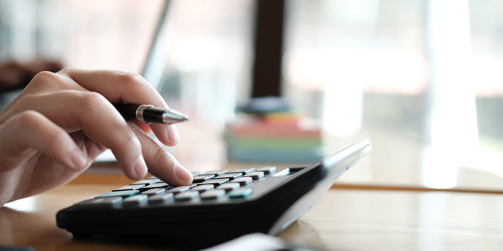Woman who landed a remote bookkeeping job