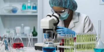 Chemist working at one of the Companies hiring for remote science jobs
