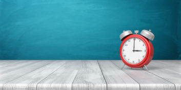 Clock for time-management mistakes