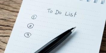 To-do list, one of the strategies to prioritize your work