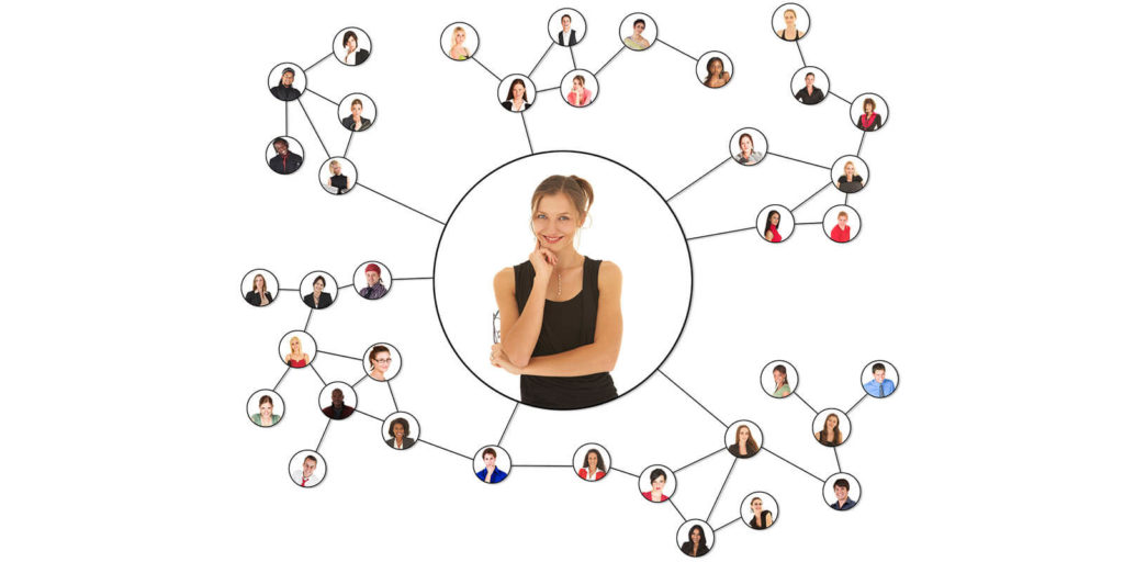Woman thinking about networking tips for freelancers
