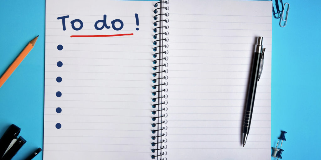 To-do list to transition to a remote job