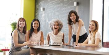 Women working for the best flexible employers for women in 2018