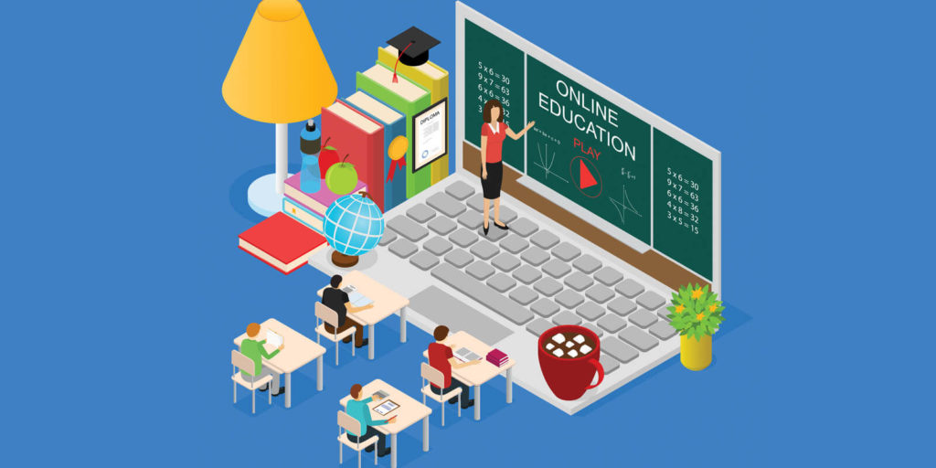 Back to school for online teachers and tutors