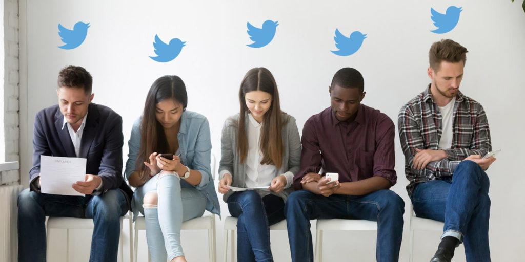 Millennials following twitter accounts for millennials