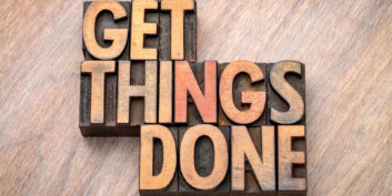 Get things done sign for how to stay motivated as a freelancer