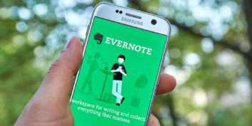 Evernote, one of the most useful home office apps