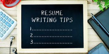 Sign for writing your resume to land a remote job