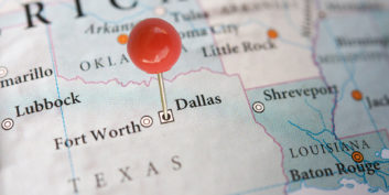 Dallas, one of the cities seeing a rise in telecommuting