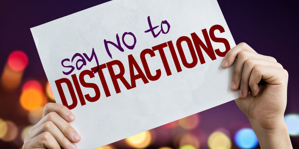 Distractions, one of the biggest cons of freelancing