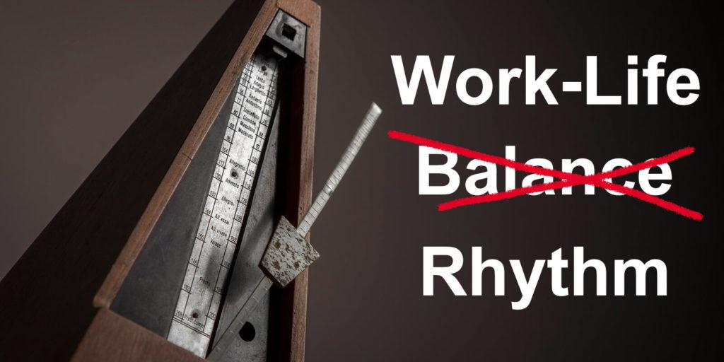 Image for work-life rhythm