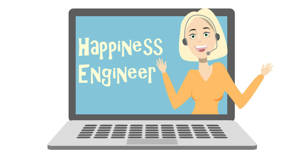 Happiness engineer, one of the unusual work-from-home jobs